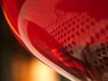 Rood glas stock foto