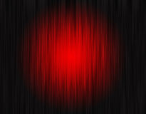 Rood gordijn Stock Foto