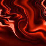 Rood gordijn Stock Foto's