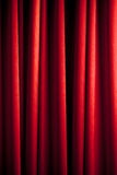 Rood gordijnpatroon Royalty-vrije Stock Fotografie