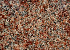 Rood graniet Royalty-vrije Stock Foto's