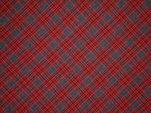 Rood-grijs doekpatroon Royalty-vrije Stock Foto's