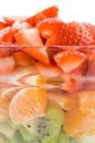 Rood groen oranje gezondheid en dieet Stock Foto