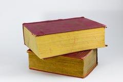 Rood grungy boek Royalty-vrije Stock Afbeelding