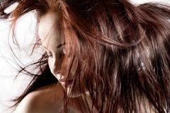 Rood haar Royalty-vrije Stock Foto's