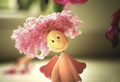 Rood haired meisje royalty-vrije stock afbeeldingen