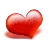 Rood hart Vector Illustratie
