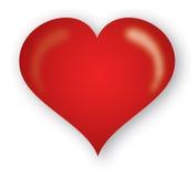 rood hart royalty-vrije stock fotografie