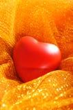Rood hart Stock Foto
