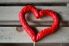 Rood hart Stock Afbeeldingen
