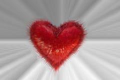 Rood hart Royalty-vrije Stock Foto