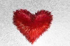 Rood hart Royalty-vrije Stock Afbeelding