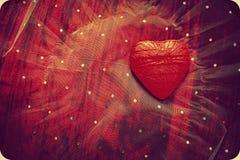 Abstracte hartachtergrond Royalty-vrije Stock Afbeelding