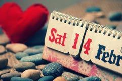 Rood hart, valentijnskaartdag Stock Foto's