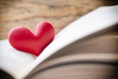Rood hart van het boek Geplaatste vector: Modieuze 2014 paarden Royalty-vrije Stock Afbeelding