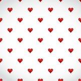 rood hartengeklets over een witte achtergrond Stock Foto