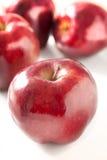 Rood - heerlijke Appelen Royalty-vrije Stock Foto's