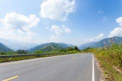 Road in high mountain Stock Photos