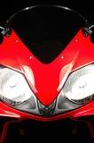 Rood Honda CBR Stock Foto