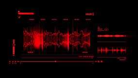 Rood HUD Voice Recording Interface Graphic-Element