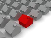 Rood huis Vector Illustratie