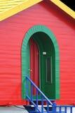 Rood Huis stock foto