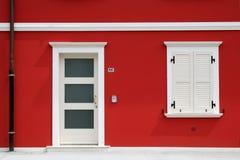 Rood huis Royalty-vrije Stock Afbeelding