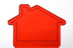 Rood Huis Stock Foto