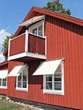 Rood huis Stock Afbeeldingen