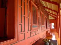 Rood huis Stock Foto's