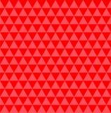 Rood illusiepatroon Stock Afbeelding