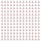 Rood kersenbehang royalty-vrije illustratie