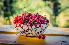 Rood kersenfruit Royalty-vrije Stock Foto