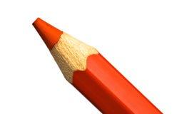 Rood Kleurpotlood stock afbeeldingen