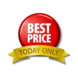 Rood knoop en lint met woorden` Beste Prijs vandaag slechts Stock Afbeeldingen