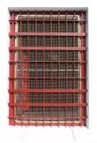 Rood kooivenster Stock Afbeelding