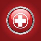 Rood kruis Royalty-vrije Stock Foto's