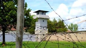Rood kruisconcentratiekamp royalty-vrije stock foto's