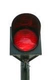 Rood licht Stock Foto