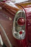 Rood licht van een ware grootteauto Chevrolet Bel Air Stock Afbeeldingen