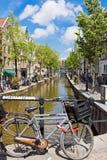 Rood lichtdistrict in Amsterdam, Nederland Royalty-vrije Stock Fotografie