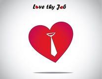 Rood liefde of van de hartvorm pictogram met een art. van het bandsymbool Stock Fotografie