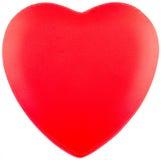 Rood liefdehert Royalty-vrije Stock Afbeeldingen