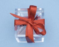 Rood lint royalty-vrije stock foto's