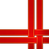 Rood lint Royalty-vrije Stock Afbeelding