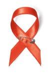 Rood Lint - de Voorlichting van AIDS Stock Afbeeldingen