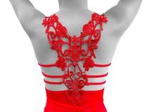 Rood meisje Royalty-vrije Stock Afbeeldingen