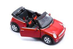 Rood Mini Cooper royalty-vrije stock foto's