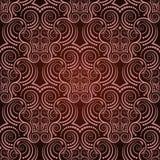 Rood naadloos behang Vector Illustratie