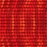 Rood naadloos behang Royalty-vrije Stock Afbeeldingen